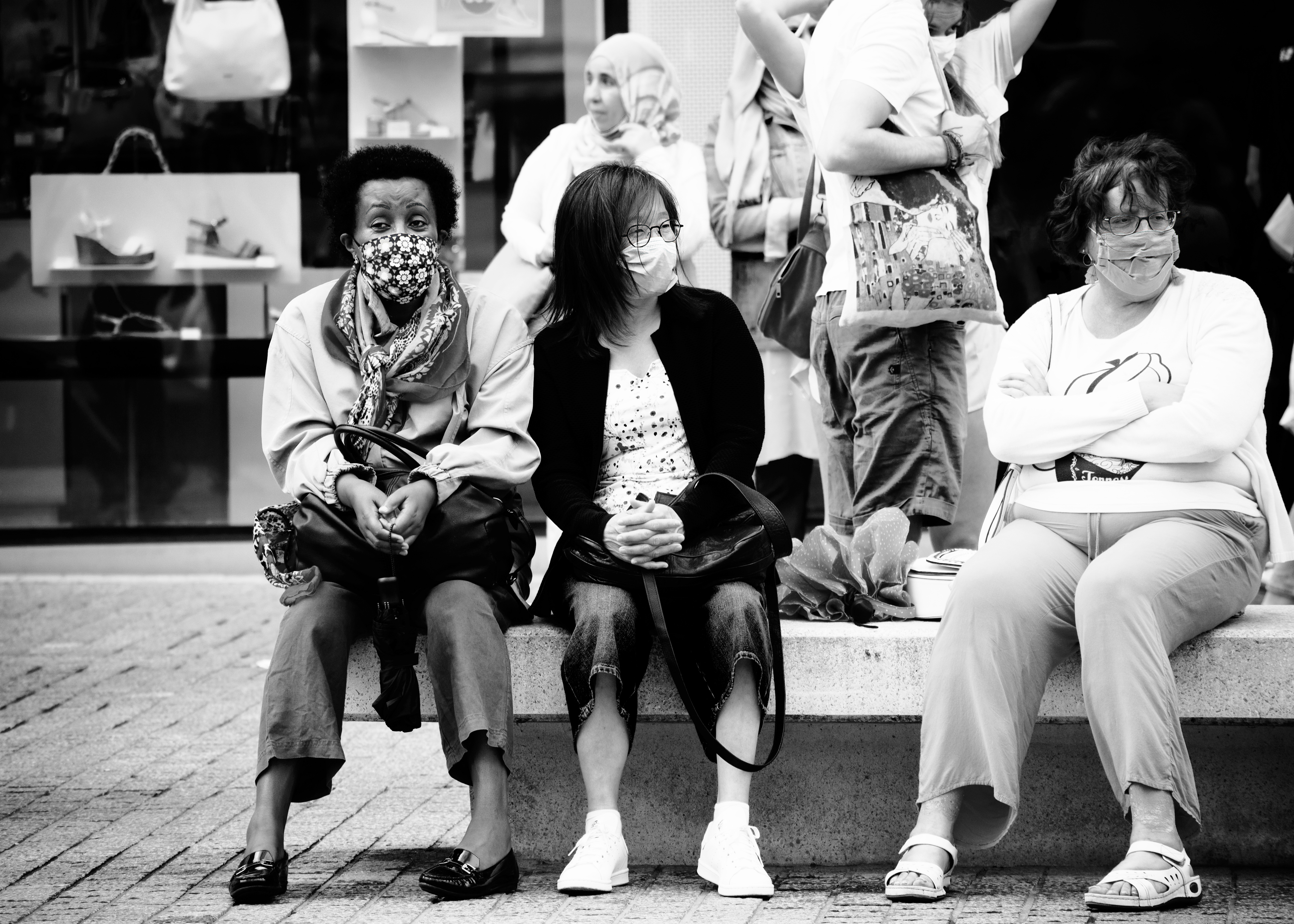 Aleksandra Rowicka street photography Brussels all lives matter