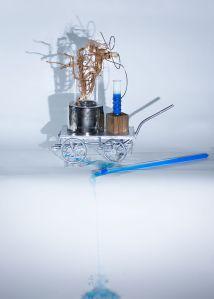Amortality installation by Inga Falkowska and photo by Aleksandra Rowicka 5th Dimension project
